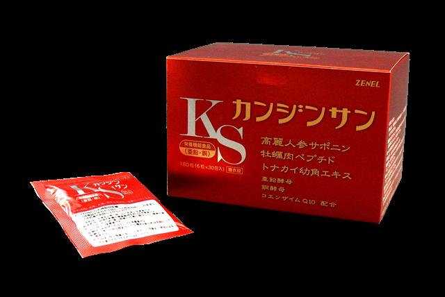 カンジンサン(カキエキス&人参サポニン [栄養機能食品(亜鉛、銅)])
